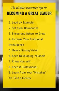 You will learn top 10 tips on developing a leadership mentality, the different leadership styles, some fantastic qualities and values to nurture and more. By integrating the ideas and pointers presented in this guide you will be taking important steps to becoming a better leader in your workplace, no matter what your position. #womeninleadership #femaleleaders #becomealeader #greatleader