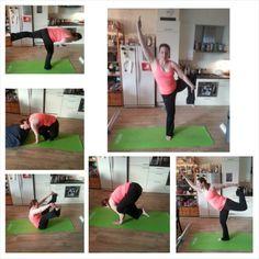 #SweatADay yoga #balanceweek
