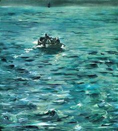 Rochefort's Escape - Edouard Manet
