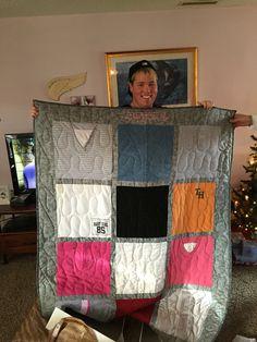 My quilt! #thanksktq