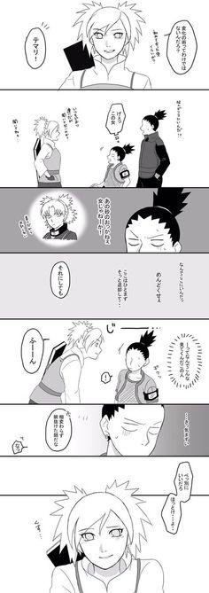 蓮 (@rackxw) さんの漫画 | 67作目 | ツイコミ(仮) Naruto Kakashi, Naruto Comic, Anime Naruto, Shikatema, Naruhina, Boruto, Shikamaru And Temari, Naruto Couples, English Writing Skills