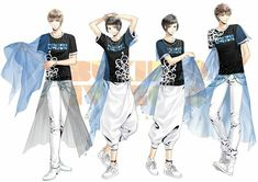Hot Anime Boy, Anime Guys, Mahouka Koukou No Rettousei, Tsukiuta The Animation, Street Dance, Anime Hair, Boy Fashion, Hot Guys, Idol
