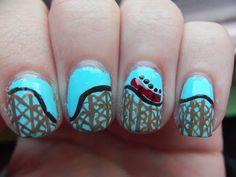 Roller Coaster Nails