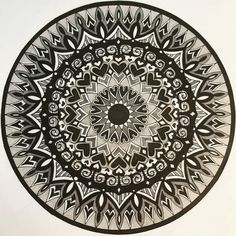 Stunning Detailed Abstract Black and White Ink Drawing Hand Drawn Art Print made in New Zealand by Dutch Artist Heidi Nobel Mandala Drawing, Mandala Art, New Zealand Art, Bright Art, Dutch Artists, White Ink, Large Prints, New Art, How To Draw Hands
