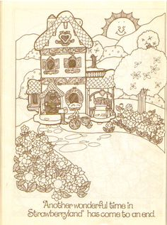 SSC Berry Happy Home Colouring Book
