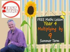 Multiplying  by 9 YouTube Maths PowerPoint Presentation - Summer Term FREE Year 4