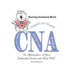 Charming Certified Nursing Assistant Week All The Wonderful Who Figure Letter  Appreciation Cooperative Patient Amazing Pictures