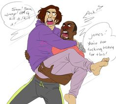 Image result for Bucky barnes funny drawings