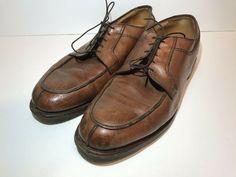 84741cd27c2 Allen Edmonds Stockbridge Split Toe Oxford Dress Shoes Mens Sz 12 Brown  Leather