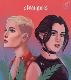 #strangers #Halsey #Lauren #wallpaper