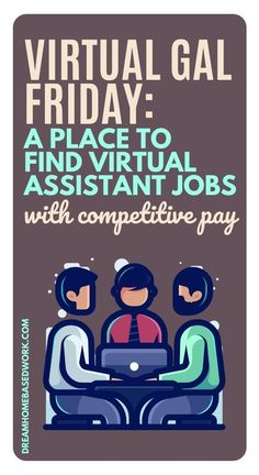 Virtual Gal Friday hires Virtual Assistants to work from home in the United States. Becoming a virtual assistant is one of the best ways to make money flexibly from home these days. Learn more about Virtual Gal Friday in my review! #virtualassistant #jobs
