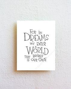 17cf51a7605 Harry Potter Quote Art Print