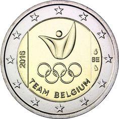Belgian commemorative 2 euro coins - Honouring people and events Timbre Collection, Piece Euro, Euro Coins, Gold Money, Commemorative Coins, World Coins, European History, Coin Collecting, Brazil