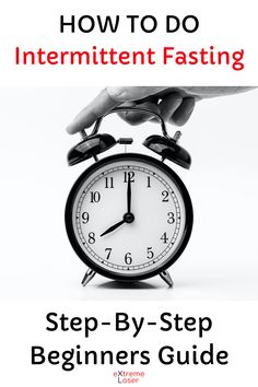 How To Do Intermittent Fasting Step By Step Beginners Guide Intermittent Fasting, Step Guide, Wellness, Weight Loss, Life, Losing Weight, Loosing Weight, Loose Weight