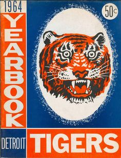 Detroit Tigers Yearbook, 1964 edition.
