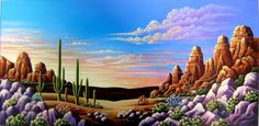 Desert Morning ~ by Andy Russell