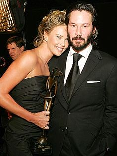 SWEET REUNION photo | Charlize Theron, Keanu Reeves
