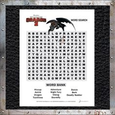Can you find all the #HTTYD2 words? Download a free word search now! http://www.howtotrainyourdragon.com/play/downloads
