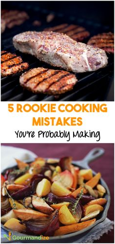 Find out how to elevate your cooking skills, by avoiding these common mistakes.