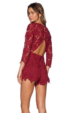 Shop for Lovers + Friends Peony Romper in Wine at REVOLVE. Free 2-3 day shipping and returns, 30 day price match guarantee.