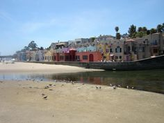 Capitola, CA. The Village is a relaxed atmosphere where everything is within walking distance.