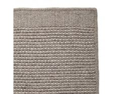 Kolong carpet, light gray / cream wool and cotton Carpets Online, Textiles, Cottage Living, Living Spaces, Living Room, Living Area, Scandinavian Design, Brown And Grey, Weaving