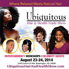 Kim Kimble for the 2014 Ubiquitous Hair and Health Trade Show.