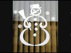 zimná výzdoba na okná - Hľadať Googlom