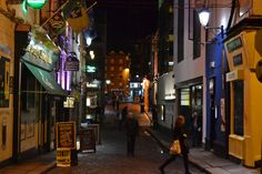 Evening atmosphere of Dublin during WebSummit 2015 Dublin, Journey, The Journey