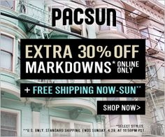 Free Shipping SITEWIDE + an Extra 30% Off Markdowns Sun Shop, Pacsun, Shop Now, Broadway Shows, Free Shipping, My Love, Products, My Boo