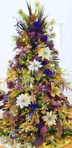 Christmas Tree ● Shades of Purple