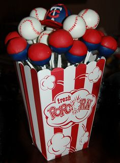 baseball-arrangement by hodgepodgebyamanda, via Flickr