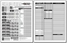 2nd Edition Character Sheet PDF | Blackmoor's D&D 3.0 Character Sheet (standard 1.04)