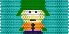 South Park kyle bead pattern