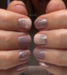 How to choose your fake nails? - My Nails Navy Nails, Glitter Nails, Nail Swag, Cute Nails, Pretty Nails, Clear Acrylic Nails, Vernis Semi Permanent, Short Nails Art, Dipped Nails