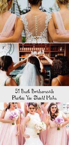 Best Bridesmaids Photos You Should Make ★ must take wedding photos with bridesmaids bride and bridesmaids juliaandgil #BridesmaidDressesMint #BurgundyBridesmaidDresses #OrangeBridesmaidDresses #PinkBridesmaidDresses #SilverBridesmaidDresses