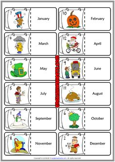 Vocabulary Games, Vocabulary Worksheets, Worksheets For Kids, English Is Fun, Learn English, Teaching Reading, Teaching Kids, Learning, Weather For Kids