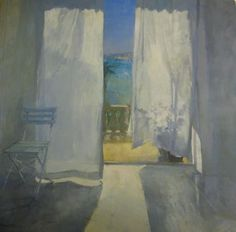 ◇ Artful Interiors ◇ paintings of beautiful rooms - Jane Corsellis