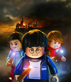 LEGO Harry Potter: Years 5-7 by Albert Co, via Behance