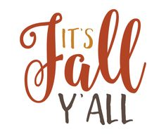 Free SVG cut files - It's Fall Y'all                                                                                                                                                                                 More