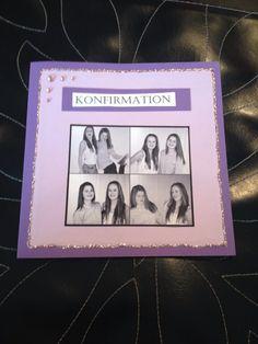 Enkel invitation til konfirmation