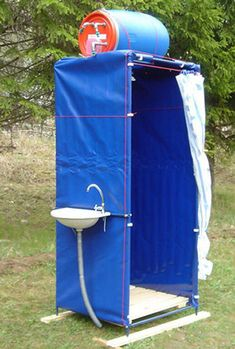 Trendy Ideas For Outdoor Camping Diy Good Ideas Camping Diy, Camping Glamping, Camping Survival, Emergency Preparedness, Survival Skills, Camping Gear, Camping Hacks, Camp Shower, Outdoor Camping Shower