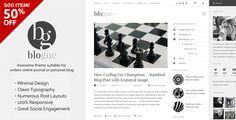 Blogue - WordPress Theme for Writers