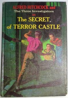 """Alfred Hitchcock and The Three Investigators (1964) """"The Secret Of Terror Castle"""" First Edition by OtterCreekAntiques"""