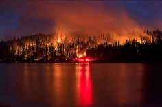 While California still faces extreme drought, here's hoping these images are the worst wildfire shots of the year.