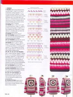 use this jumper pattern to make a mixed stitch blanket