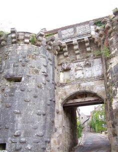Porte Neuve de Vezelay (XIVe). (Yonne) - Bourgogne
