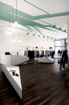 MAYGREEN fashion boutique in Hamburg, by KINZO