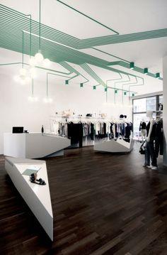 MAYGREEN fashion boutique in Hamburg, by KINZO