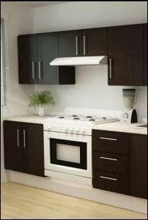 Resultado de imagen para cocinas integrales casas infonavit #cocinasmodernasintegrales #casasminimalistaschicas